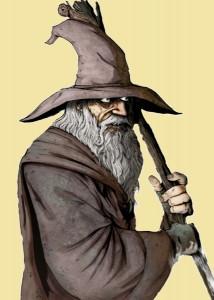 Ne devrait-on pas se demander pourquoi les mages puissants se doivent d'avoir une longue barbe ridicule ?